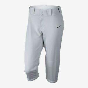 NEW Nike medium softball grey pants women's nwt